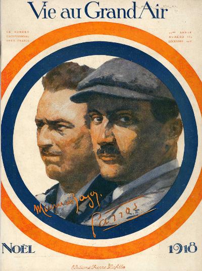 Roland Garros aviateur 1918.