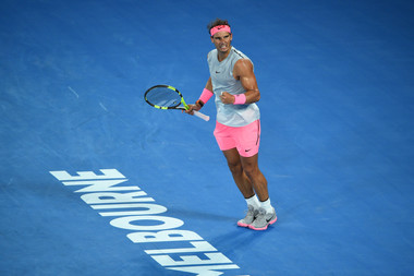 Rafael Nadal in Melbourne Australian Open 2019