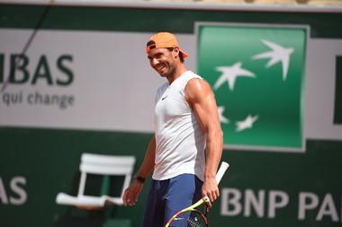 Rafael Nadal - Roland-Garros 2019 - Entraînement