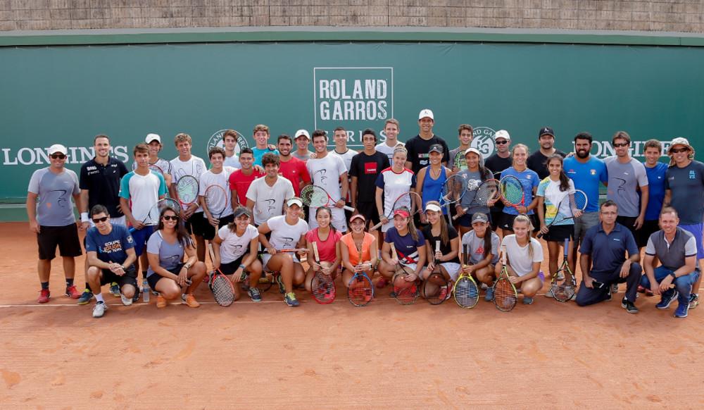 Roland-Garros Juniors Wild-card by Longines - Belo Horizonte: clinic Marcelo Melo Bruno Soares