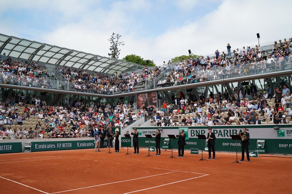 Roland-Garros 2019 - Court Simonne-Mathieu -Orchestre