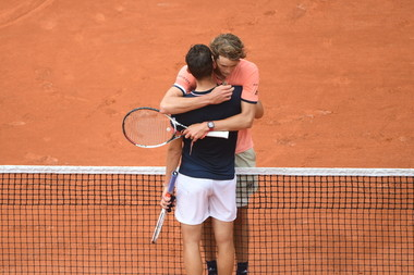 Roland-Garros 2018, 1/4 de finale, Dominic Thiem, Alexander Zverev