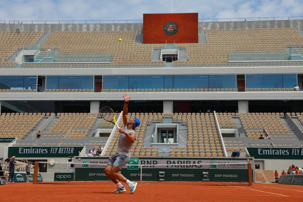 Rafael Nadal practice 2019