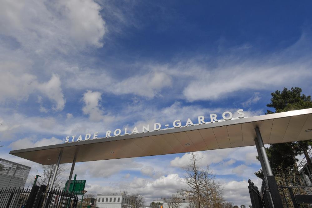 stade Roland-Garros 2018 / Roland-Garros stadium 2018.