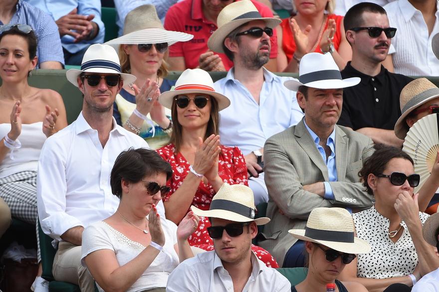 Pippa Middleton in Roland-Garros 2018