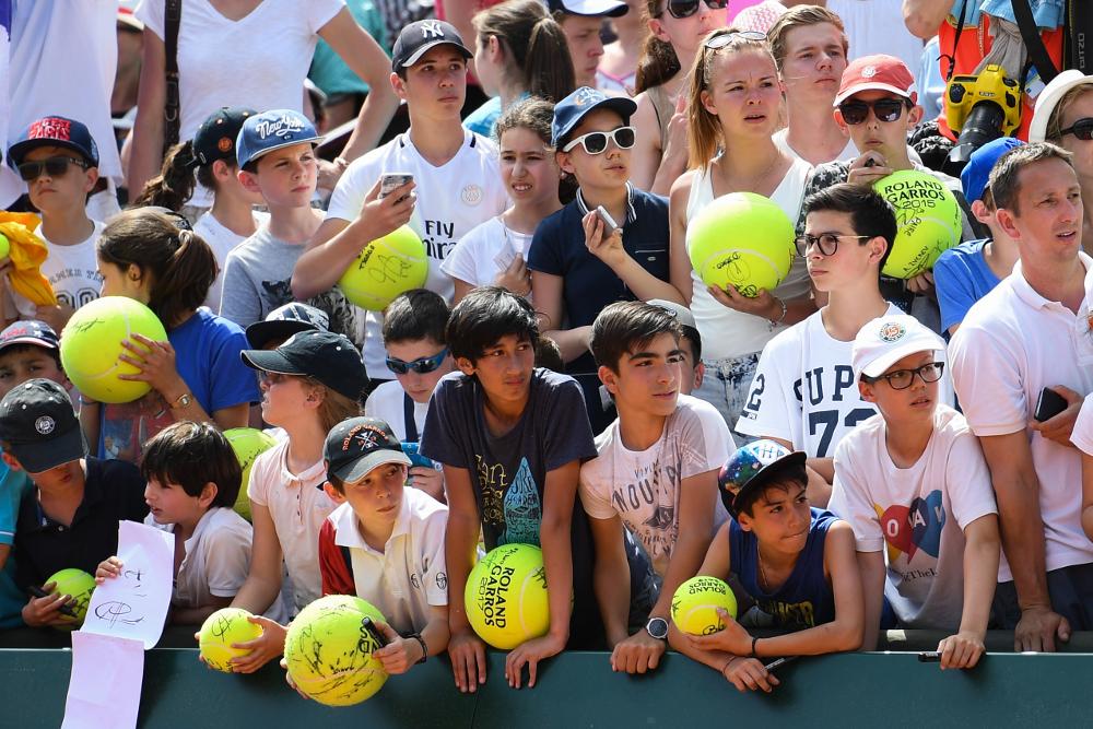 Journée des enfants de Roland-Garros / Roland-Garros kids Day.