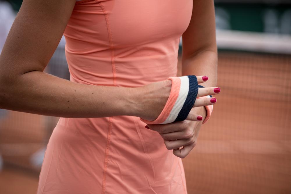 Kristina Mladenovic Bracelet Eponge Roland-Garros