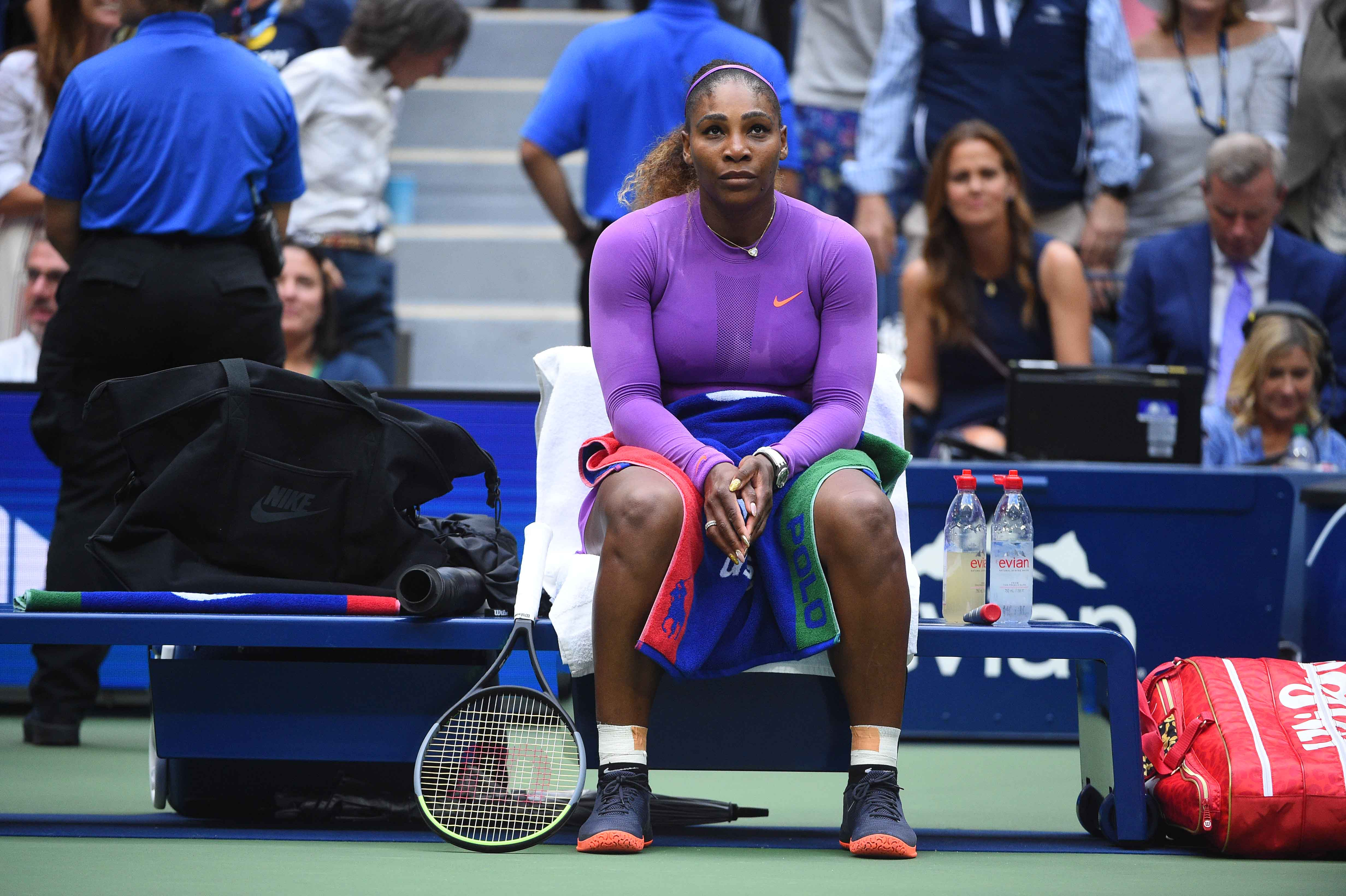 Serena Williams disappointed 2019 US Open