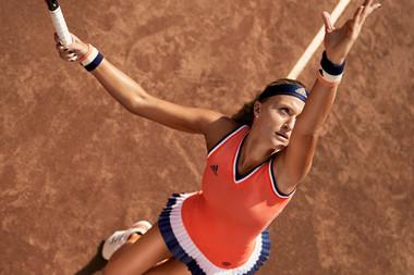 Kristina Mladenovic adidas x Roland-Garros