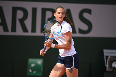 Karolina Pliskova practice 2019