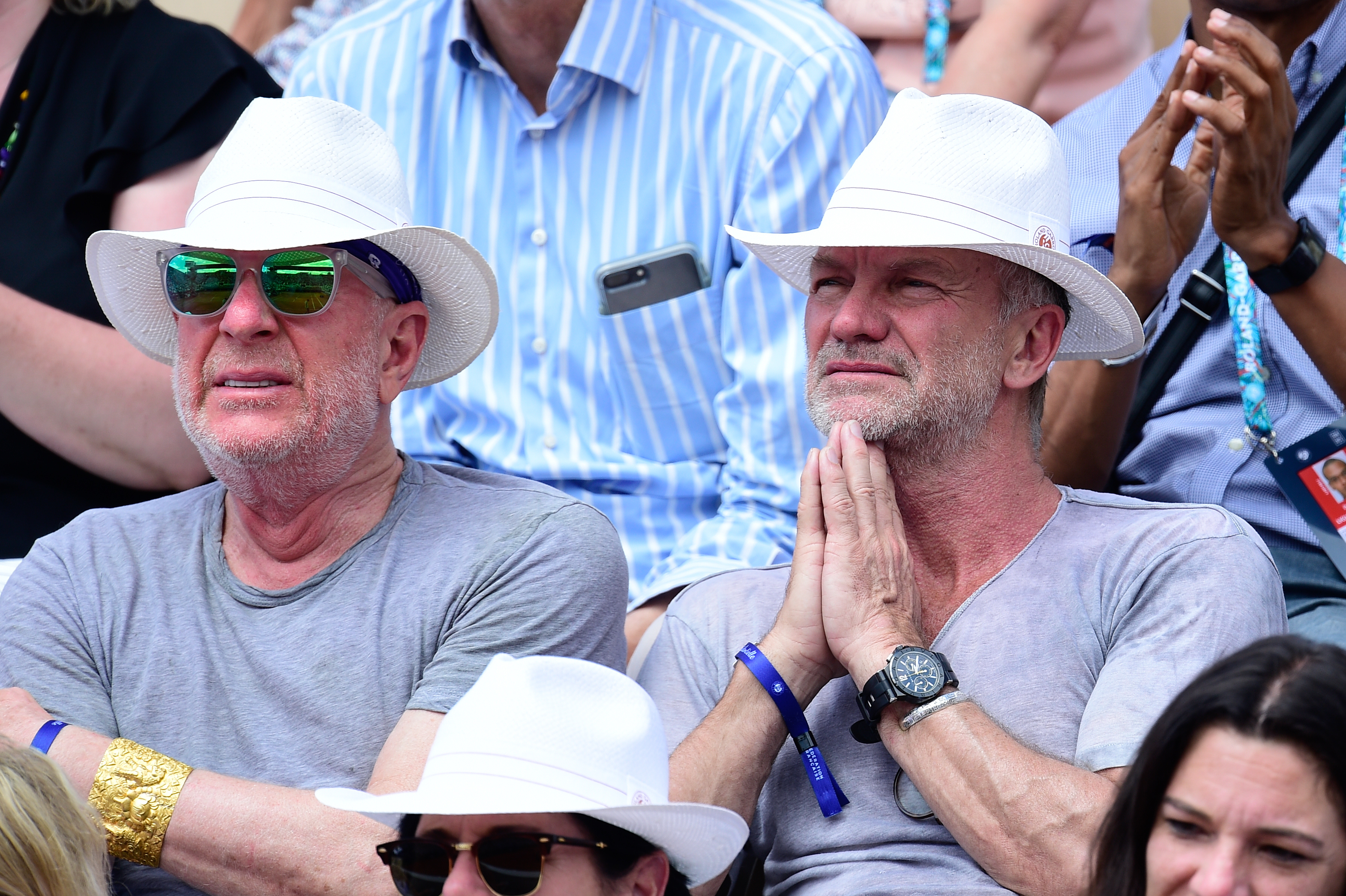 Singer Sting Roland-Garros 2019
