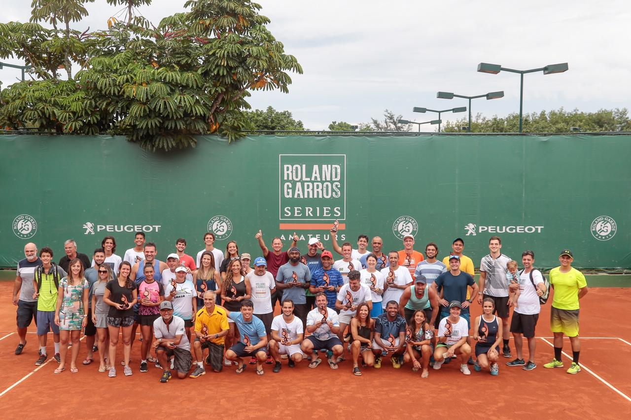 All players ofn the 2019 Roland-Garros Amateur Series in Brazil