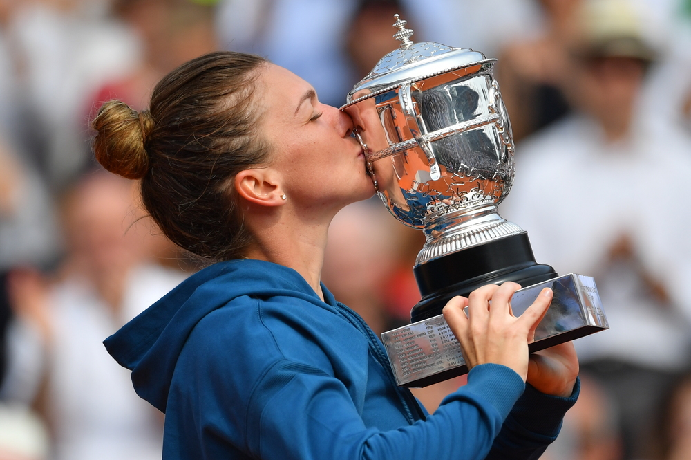 Simona Halep Roland-Garros Victoire Coupe