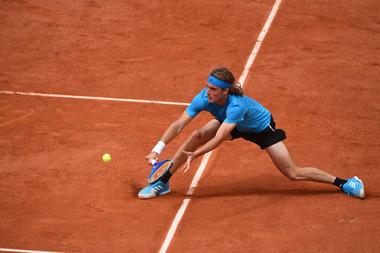 Stefanos Tsitsipas first round Roland Garros 2019