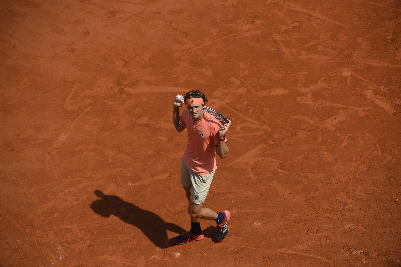 "Very elegant attitude from Alexandre ""Sascha"" Zverev at Roland-Garros 2018"