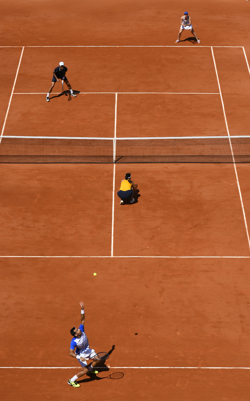 Latisha Chan, Ivan Dodig, Gabriela Dabrowsi, Mate Pavic, Roland Garros 2018, Double Mixte, Finale