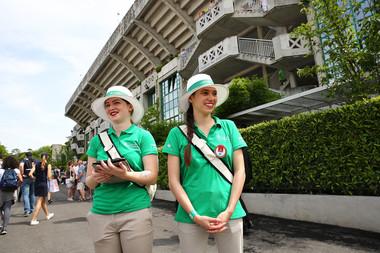 Roland-Garros développement durable équipes vertes sustainable development 2018.