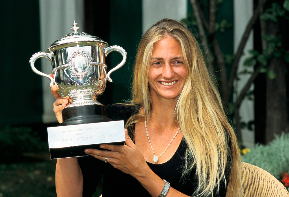 Photocall Mary Pierce Roland-Garros 2000