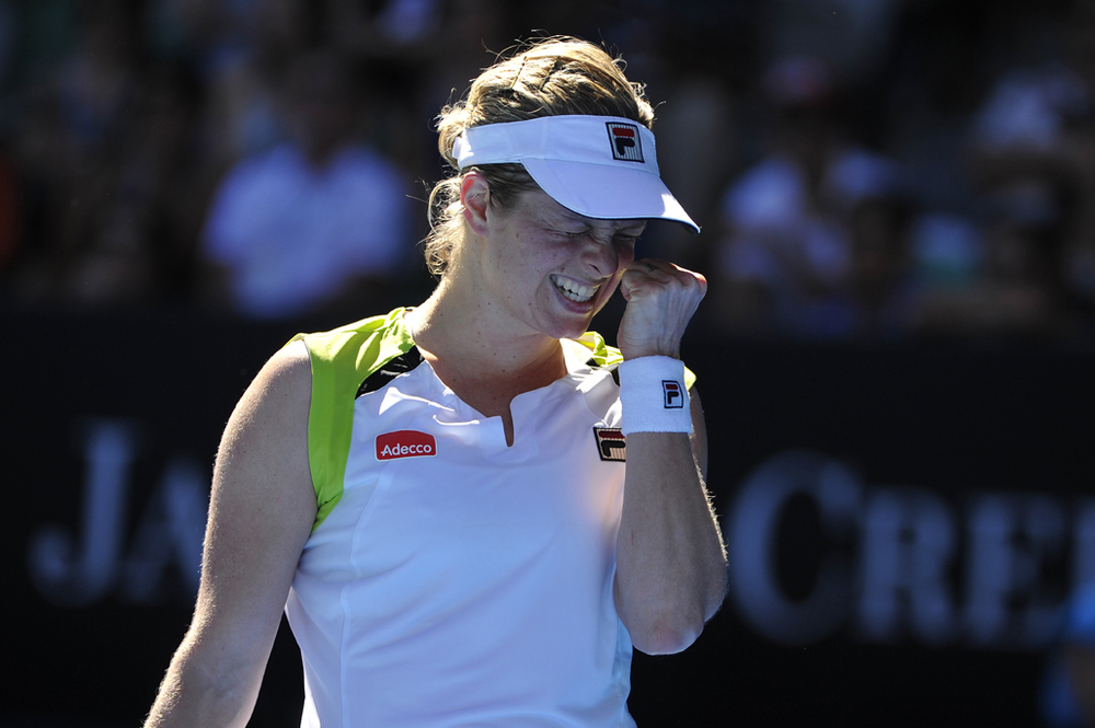 Kim Clijsters at the 2012 Australian Open
