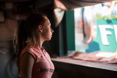 ramasseurs de balles Roland-Garros 2018 Candice.