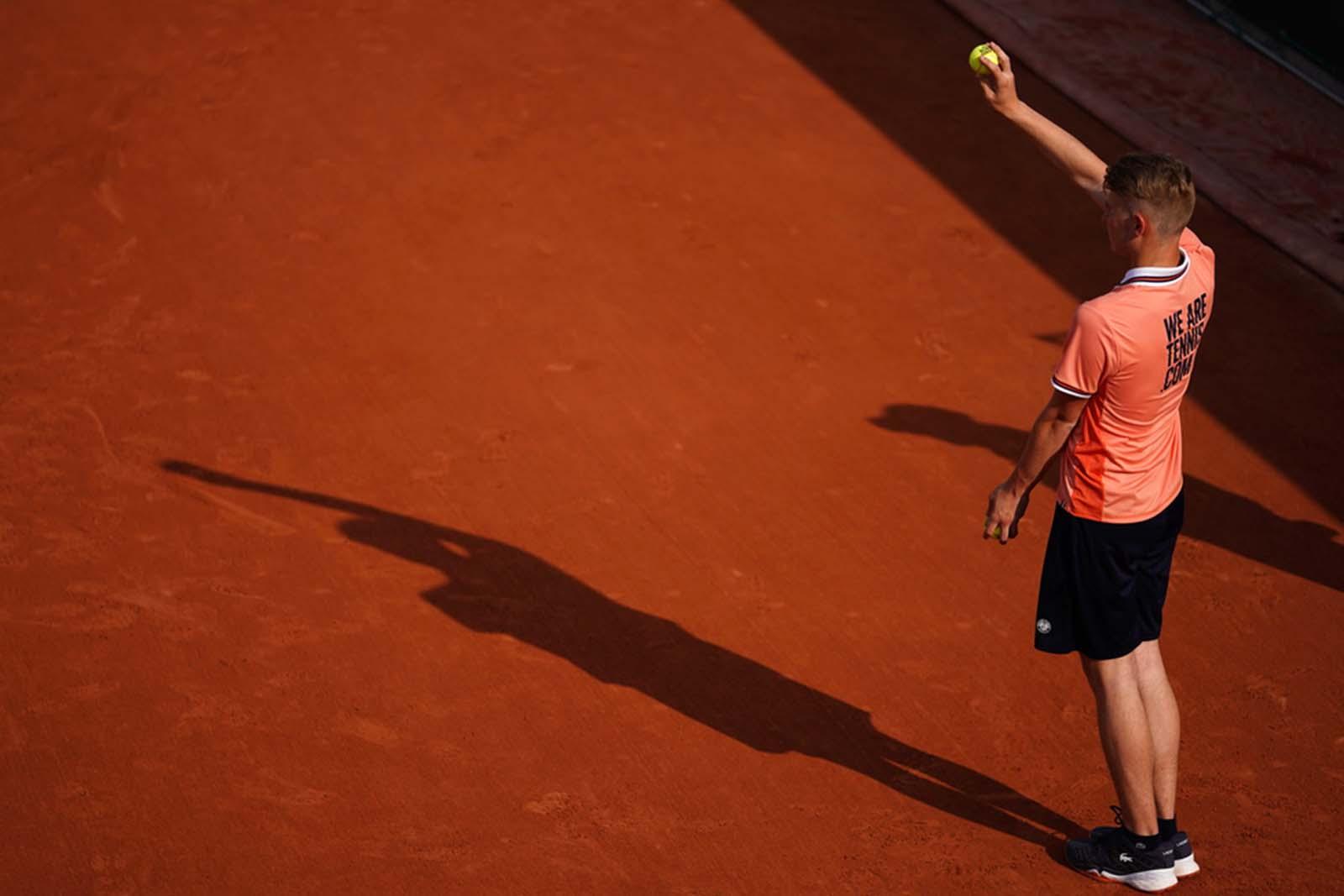 Ramasseurs de balles- Roland-Garros 2019