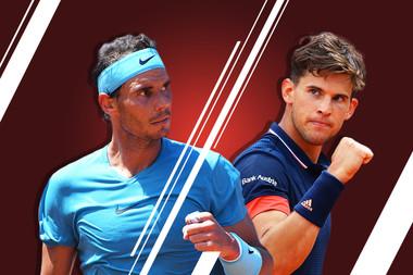 Thiem Nadal finale hommes / men's singles final.