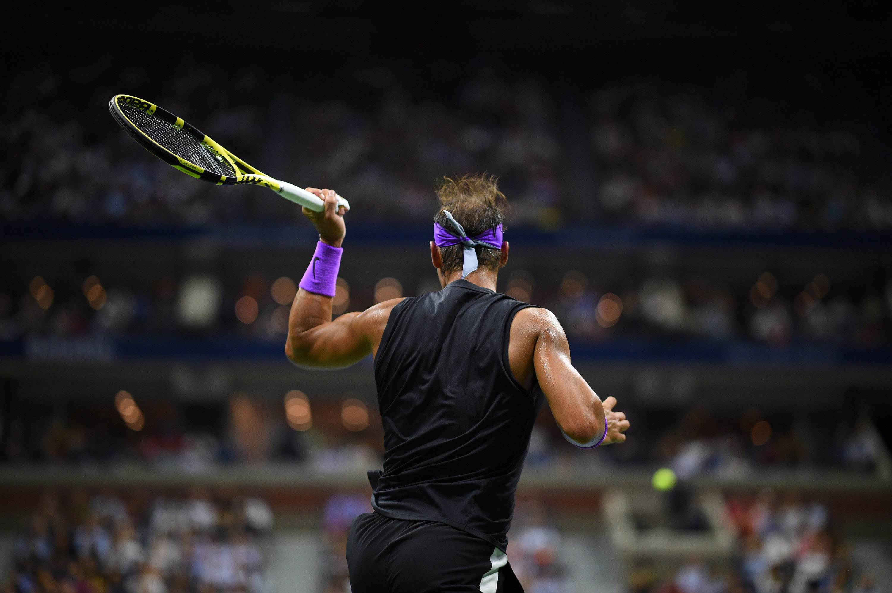 Rafael Nadal's back at the 2019 US Open