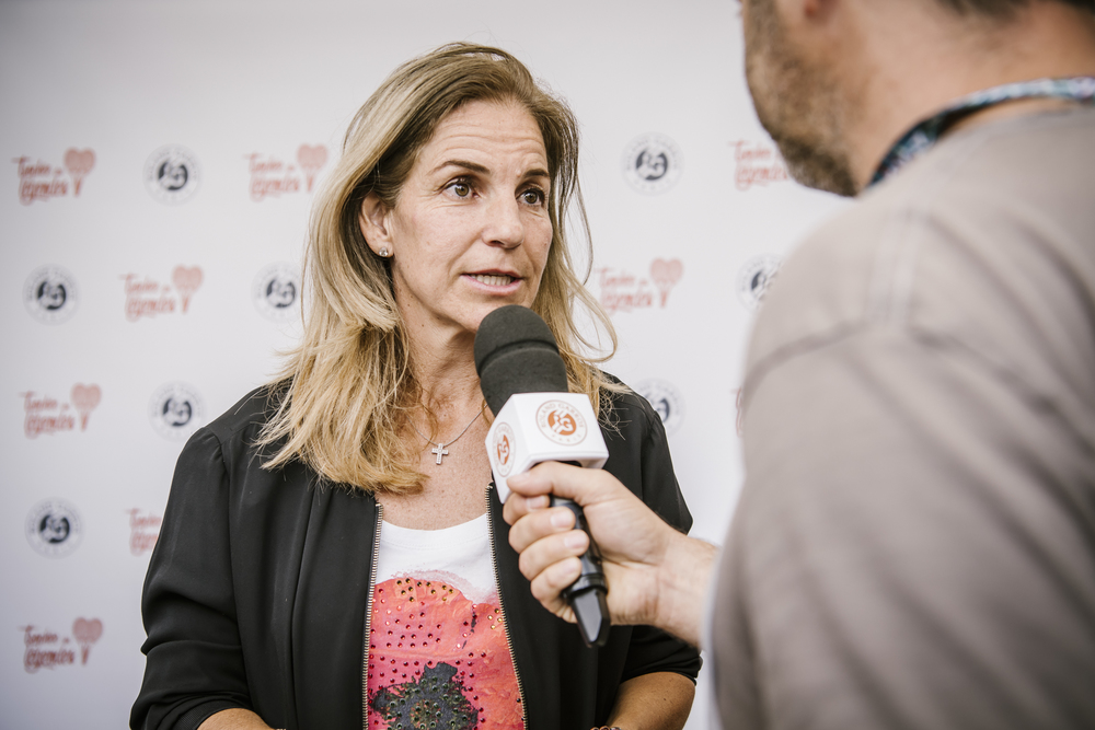 Arantxa Sanchez Roland Garros legends 2019