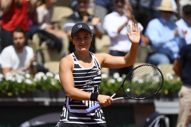 Ashleigh Barty Roland Garros quarter-finals 2019