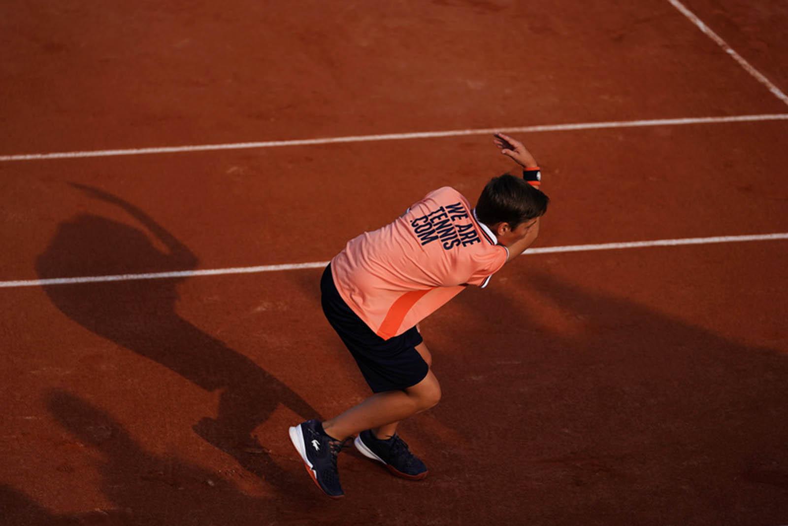 Ramasseur de balles - Roland-Garros 2019