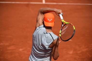 Rafael Nadal - Roland-Garros 2019 - court Suzanne-Lenglen