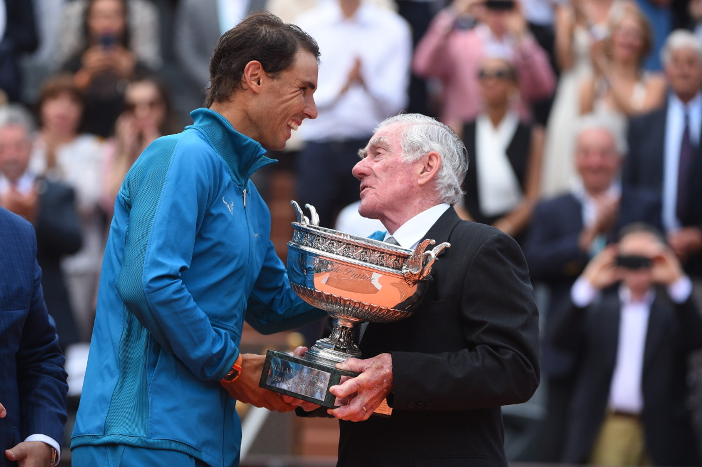 Rafael Nadal Ken Rosewall Roland-Garros 2018.