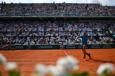 Rafael Nadal Central Roland-Garros 2018.