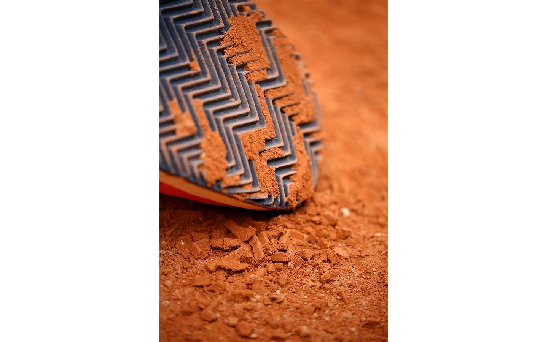 Semelle terre battue clay