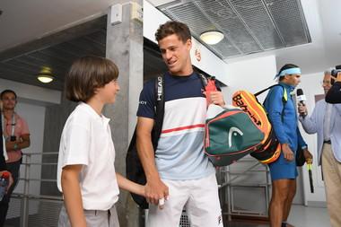 Diego Schwartzman Rafael Nadal Roland-Garros 2018
