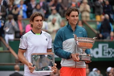2013 : Rafael Nadal gagne un nouveau titre en prenant le meilleur sur David Ferrer en finale