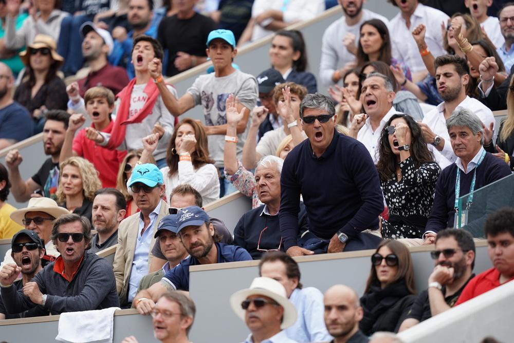 Toni Nadal Roland Garros 2019 final