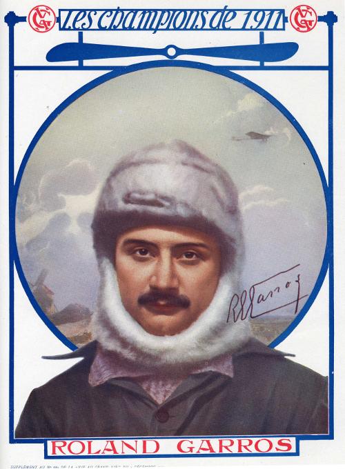Roland-Garros aviateur champion des champions 1911.