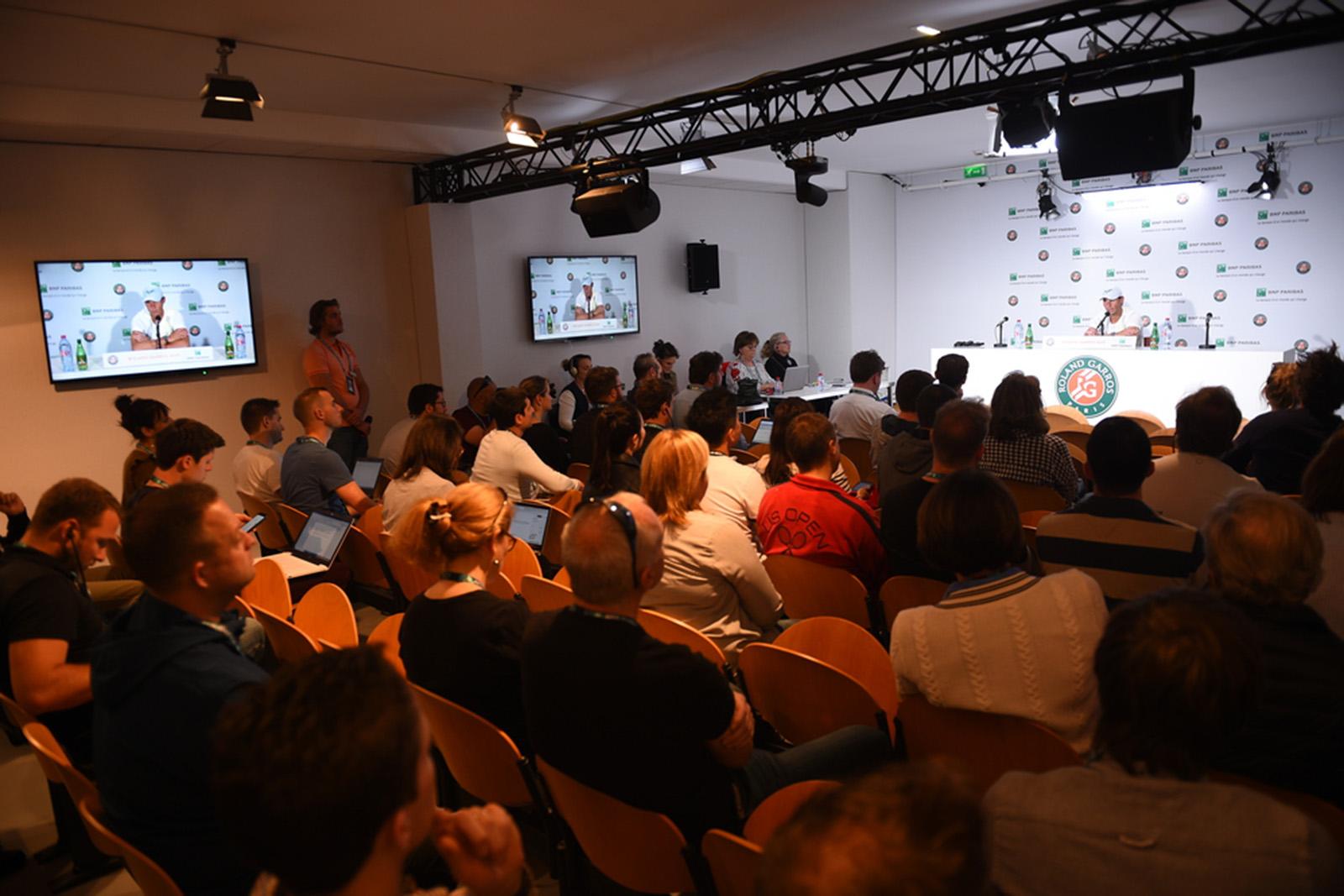 Rafael Nadal media day