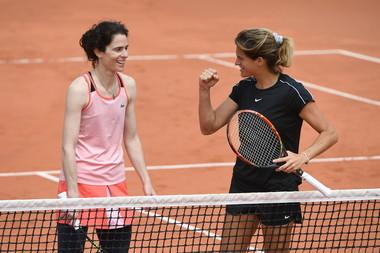Amelie Mauresmo, Nathalie Dechy, Roland Garros 2019, Double Dames Legendes,