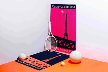 Carré Blanc x Roland-Garros