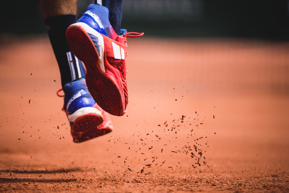 shoes / chaussures tennis babolat Benoit Paire