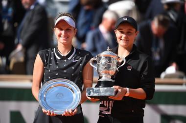 Ashleigh Barty -Marketa Vondrousova - Roland-Garros 2019 - finale
