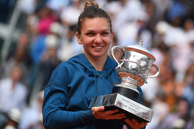 Simona Halep, SImple dames Roland-Garros 2018