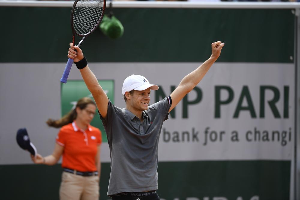 Yannick Hanfmann Roland Garros 2019 qualifying