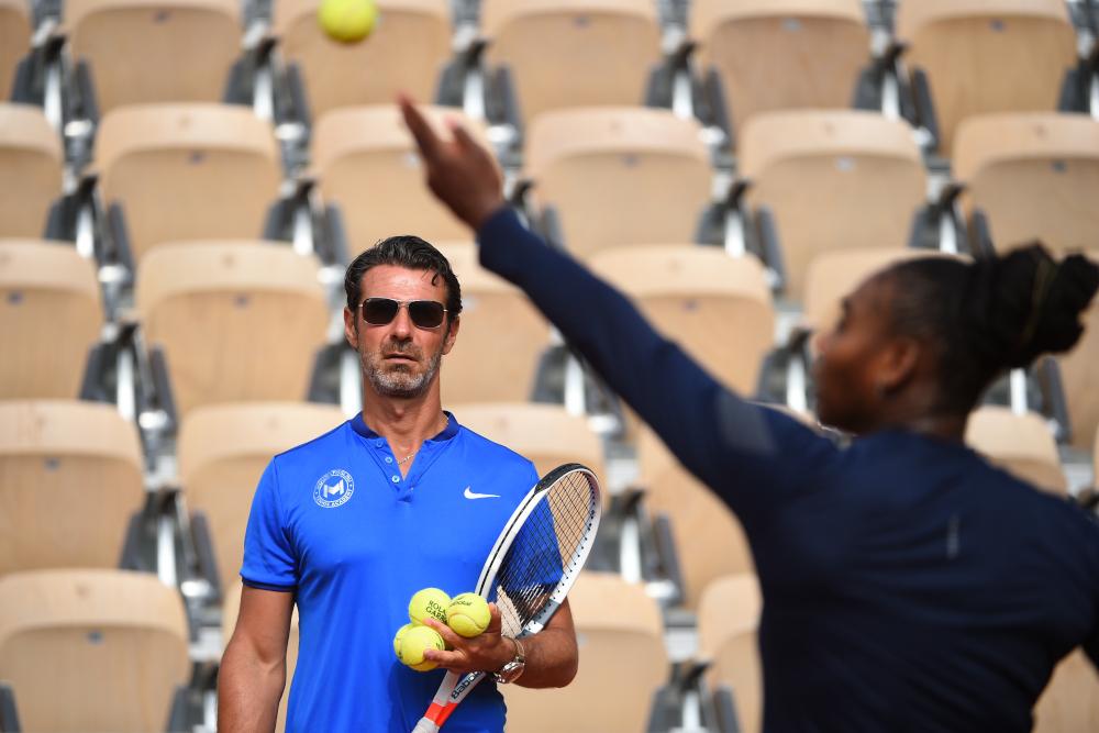 Roland-Garros 2018, Serena Williams, Patrick Mouratoglou