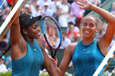 Madison Keys Sloane Stephens Americans in Paris / Américaines à Paris.