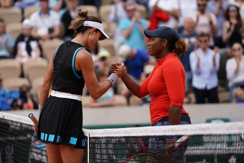 Roland-Garros 2019 - Court Simonne-Mathieu -  Garbiñe  Muguruza - Taylor Townsend