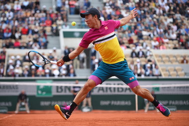 Kei Nishikori - Roland-Garros 2019 - huitièmes de finale