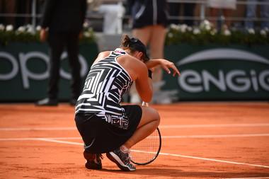 Ashleigh Barty Roland Garros 2019 final
